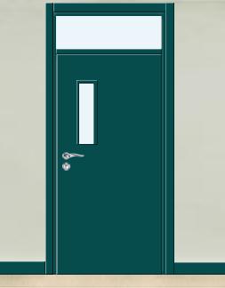 钢质学校教室门 单门 006