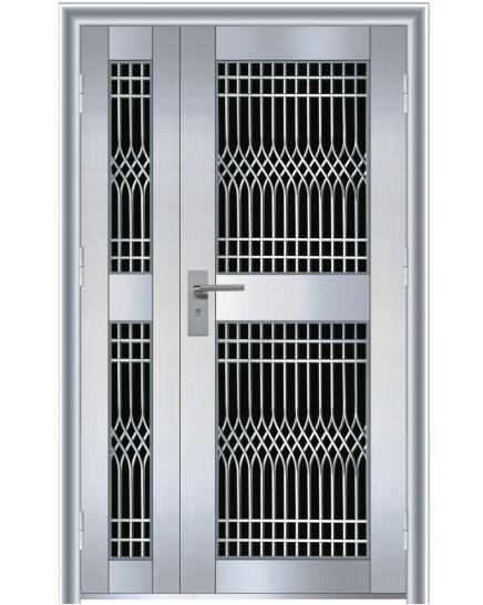 不锈钢玻璃门 TM-2304