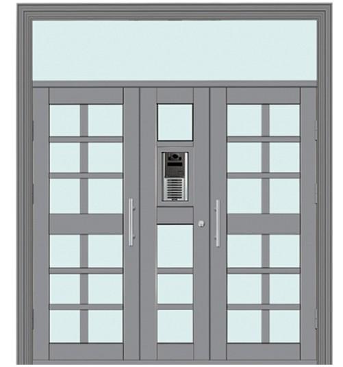 可视楼宇对讲门 TM-9203