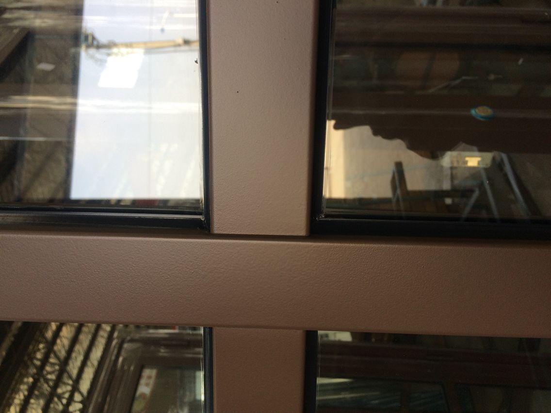 泰明楼宇可视对讲门工艺细节