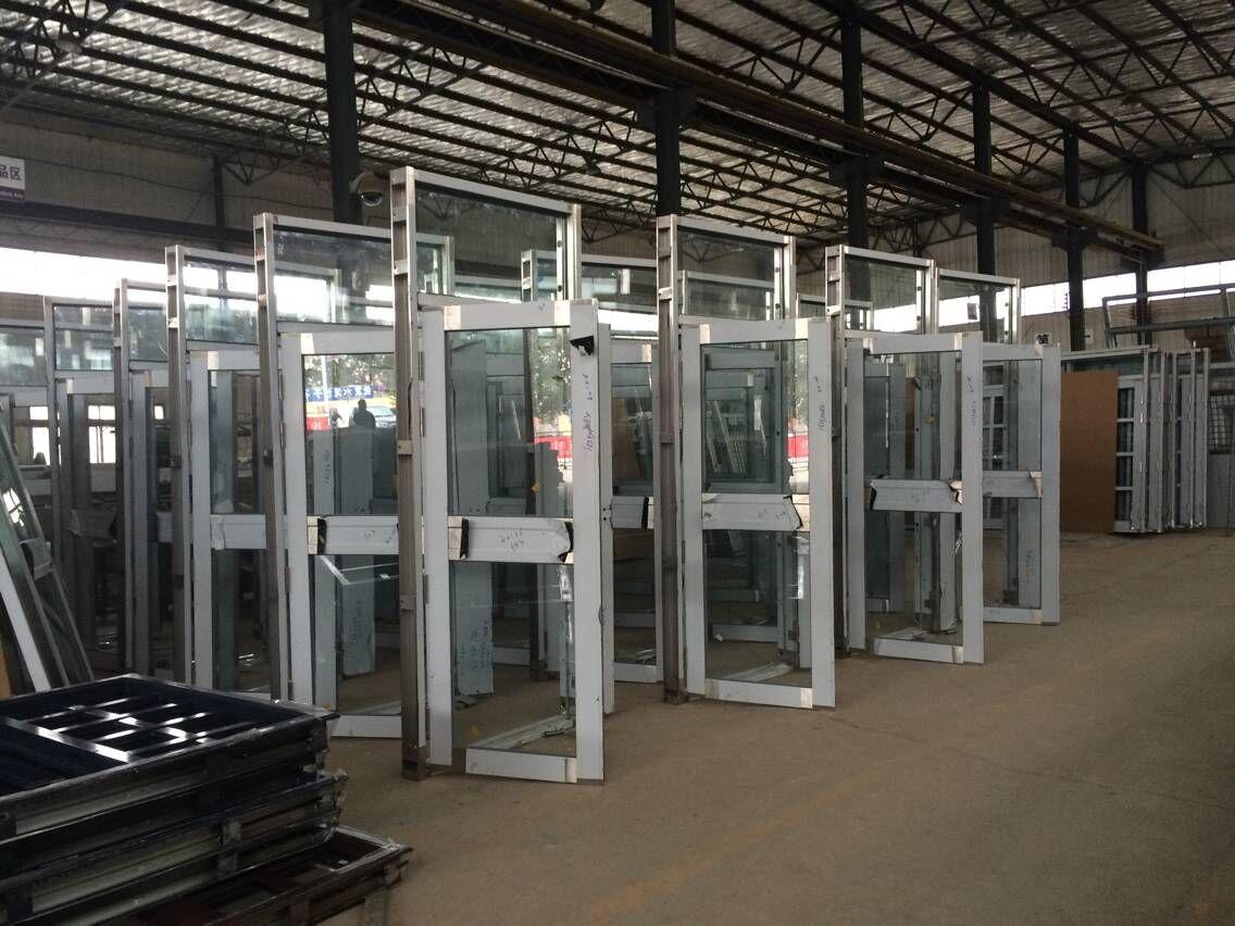 TM-1102  单层玻璃 不锈钢门生产图片