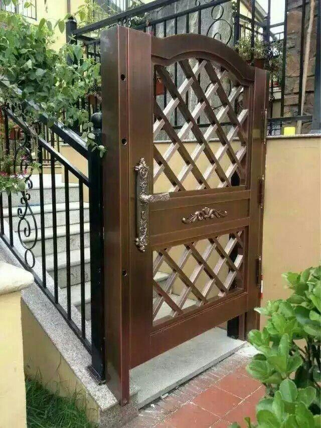 别墅庭院铜门 TM-7010