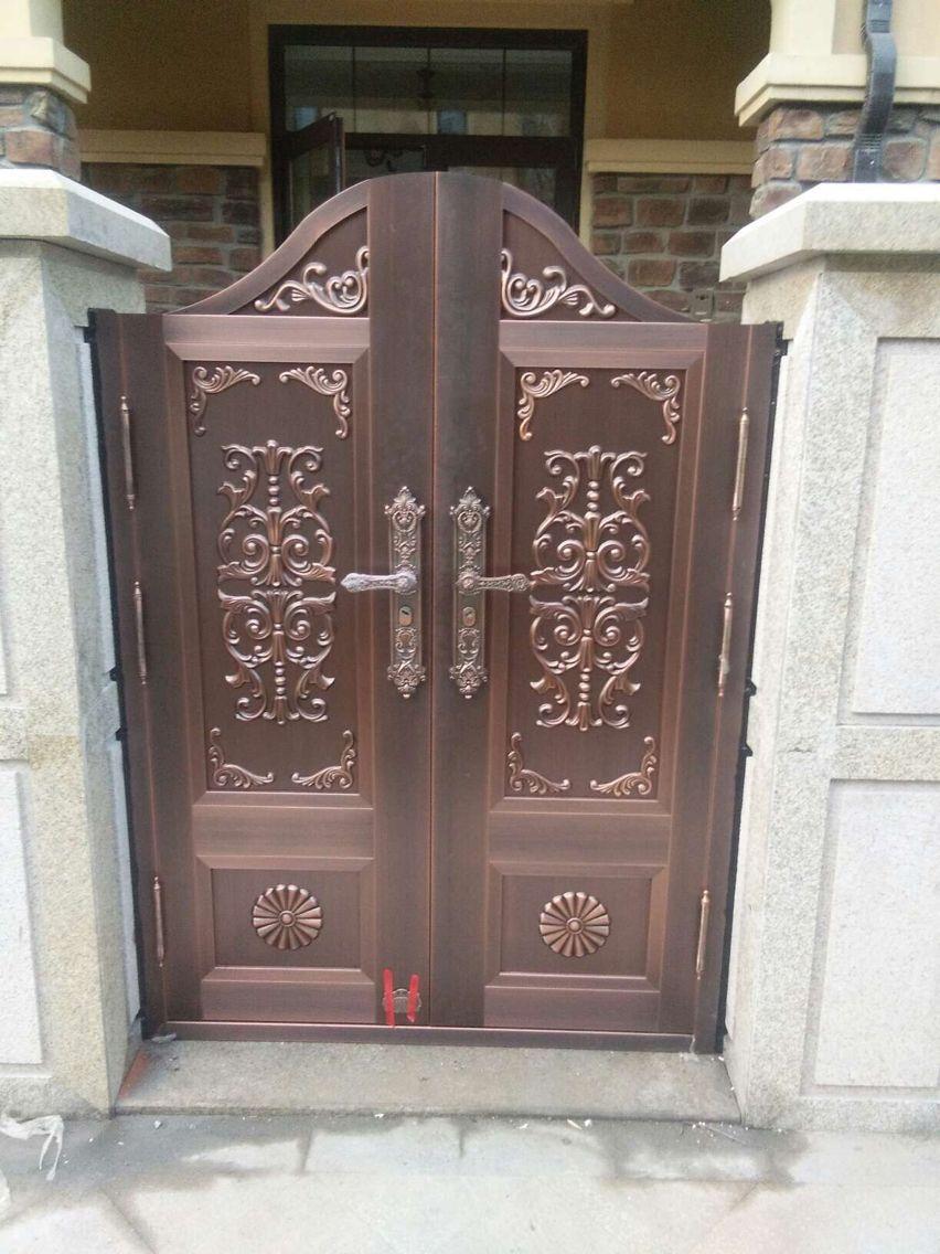 别墅庭院铜门 TM-7011