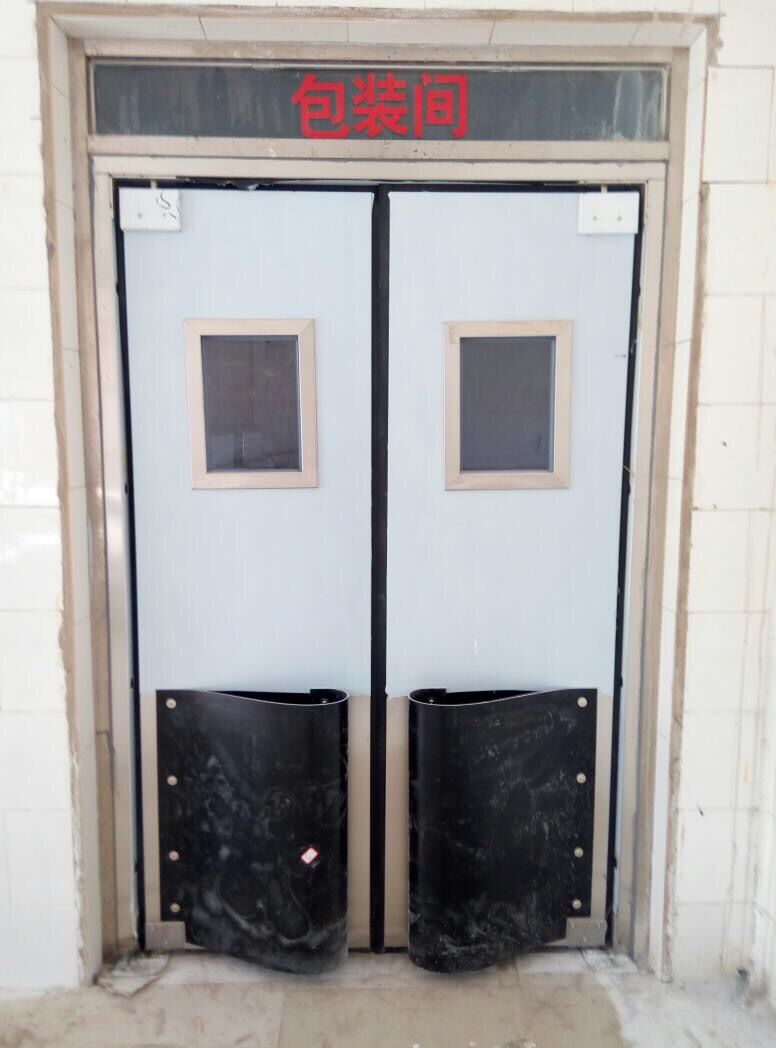 包装车间不锈钢防撞门