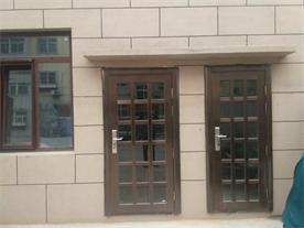 【青岛】崂山沙子口-别墅不锈钢仿铜门定做成功案例