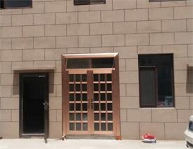 【青岛】崂山沙子口-不锈钢门定做成功案例