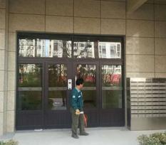 【青岛】楼宇对讲门成功案例-保利双峰国际