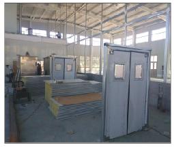 【北京】泰瑞凯特不锈钢自由防撞门加工案例