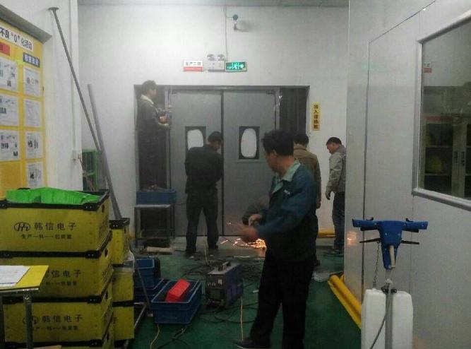 【威海】韩信电子防撞自由门定制案例