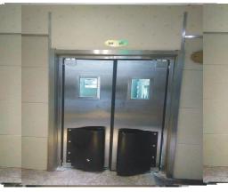 【烟台】碧海饭店厨房不锈钢防撞门定制成功案例