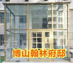 【淄博】博山翰林府邸 小区单元门加工项目【有图】