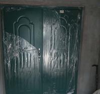 钢质双开门 安装案例