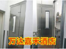 青岛东方影都万达嘉华酒店不锈钢折叠门加工案例