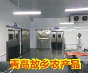 回头客-山东故乡农产品车间不锈钢自由门防撞门加工案例