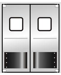 TM-9902  不锈钢自由防撞门