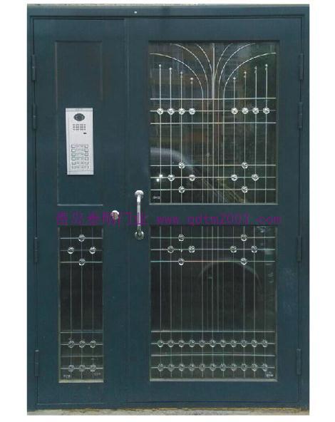 畅销新款镀锌楼宇门(拱形楼宇对讲门) TM-7304