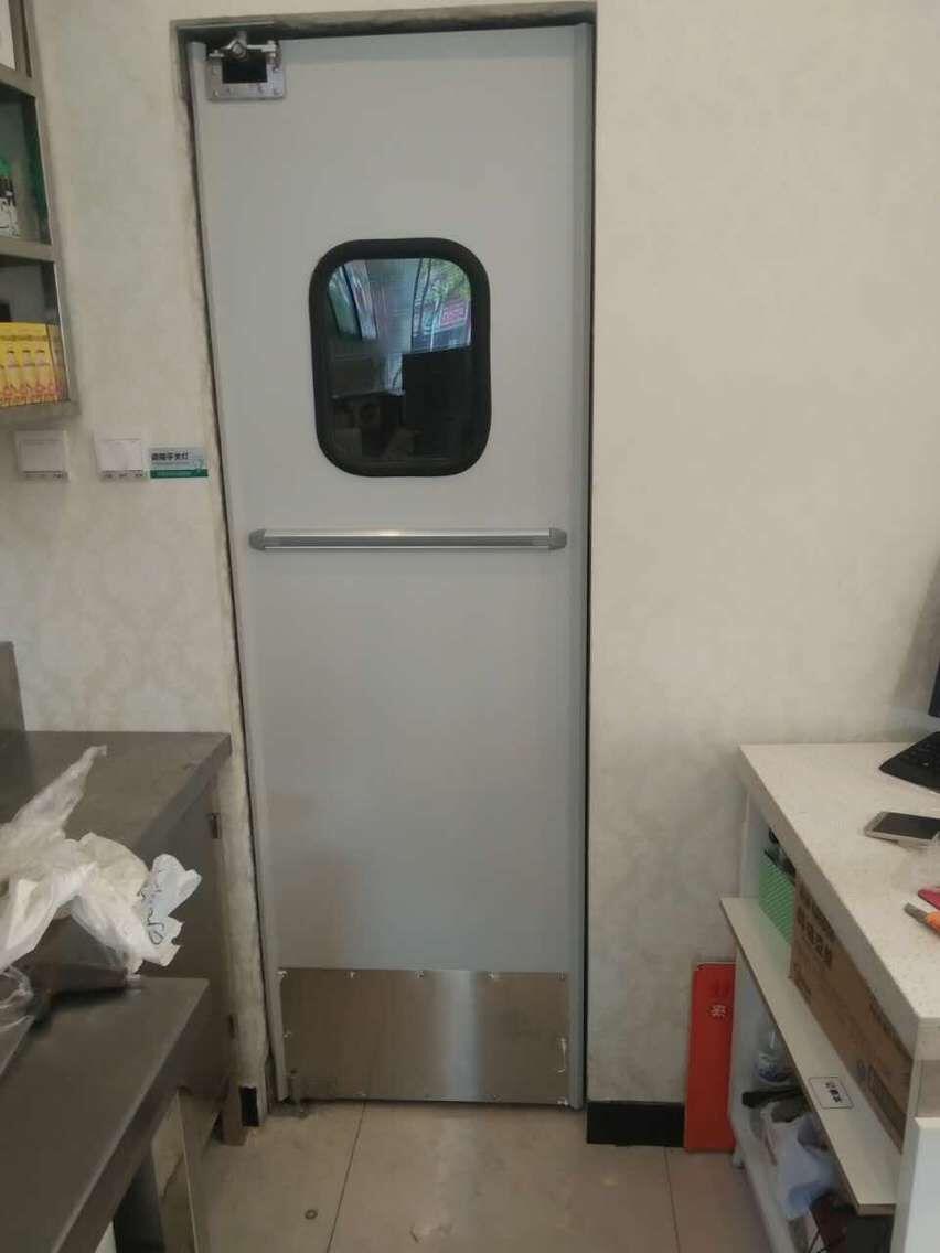 铝板防撞自由门 TM-9913