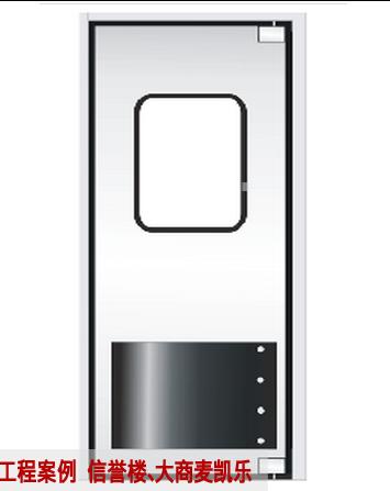 TM-9903 超市不锈钢自由防撞门