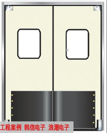 TM-9902 车间不锈钢自由防撞门