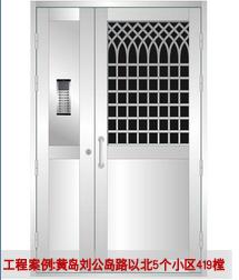 不锈钢单元门 TM-2104