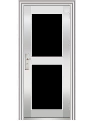 不锈钢玻璃门 TM-1102