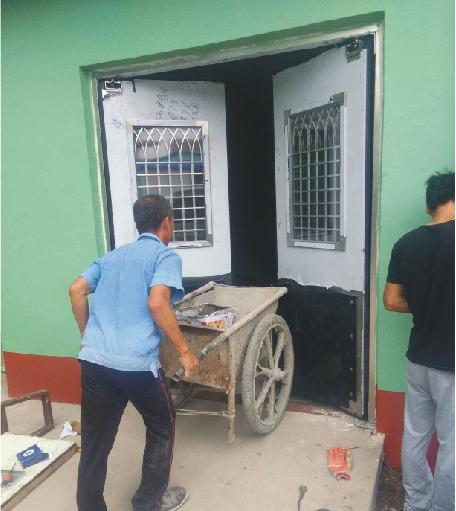不锈钢防撞自由门