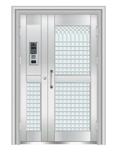 不锈钢对讲门 TM-2301