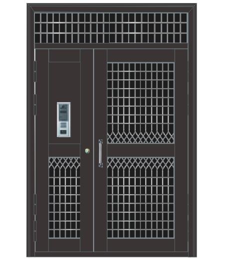 钢制单元门 TM-7311