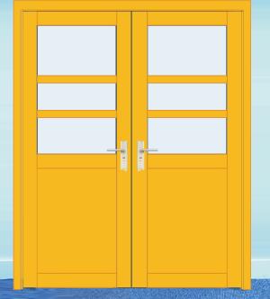 幼儿园教室门
