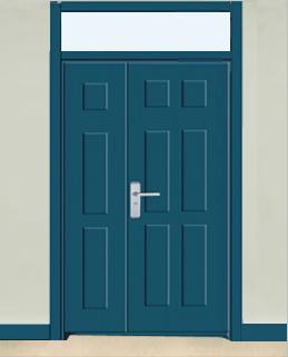 学校办公室专用门 005
