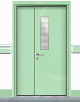 钢质医院子母门 子母病房门 002