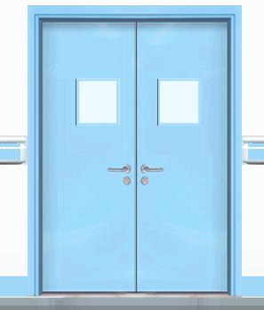 钢质医院双开门 004