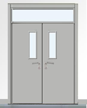 学校走廊门 004