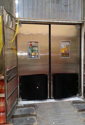 超市不锈钢防撞门