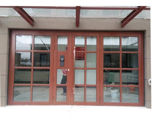 四开门 钢质楼宇对讲门