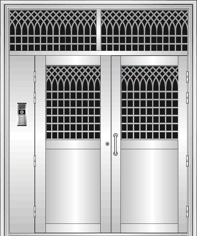 不锈钢楼宇对讲门