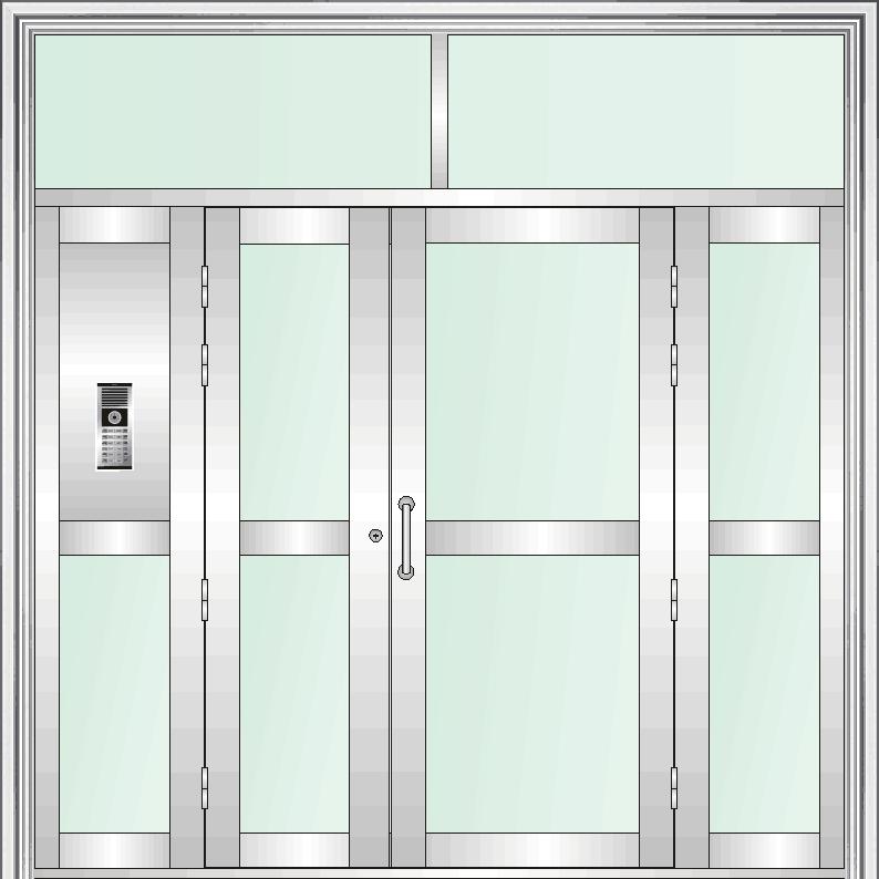 楼宇防盗门