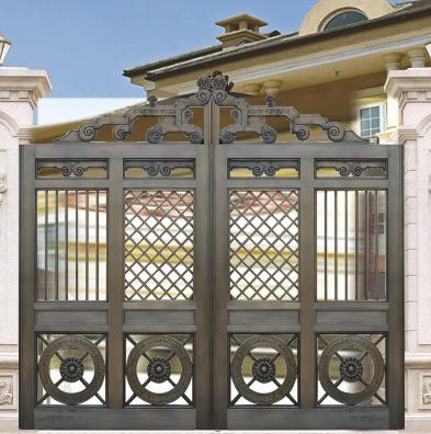 庭院铜门 双开铜门