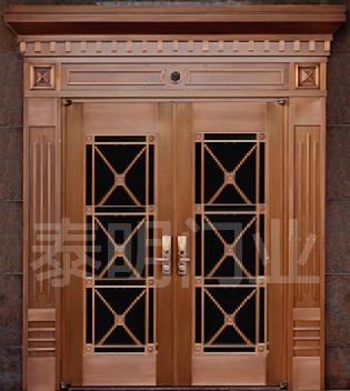 别墅铜门价格 TM-7005