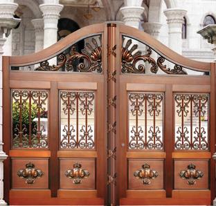 庭院铜门 TM-6026