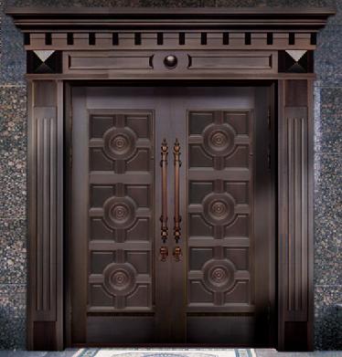 别墅铜门品牌 TM-6015