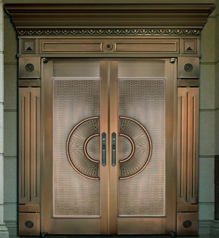 别墅铜门 TM-6001