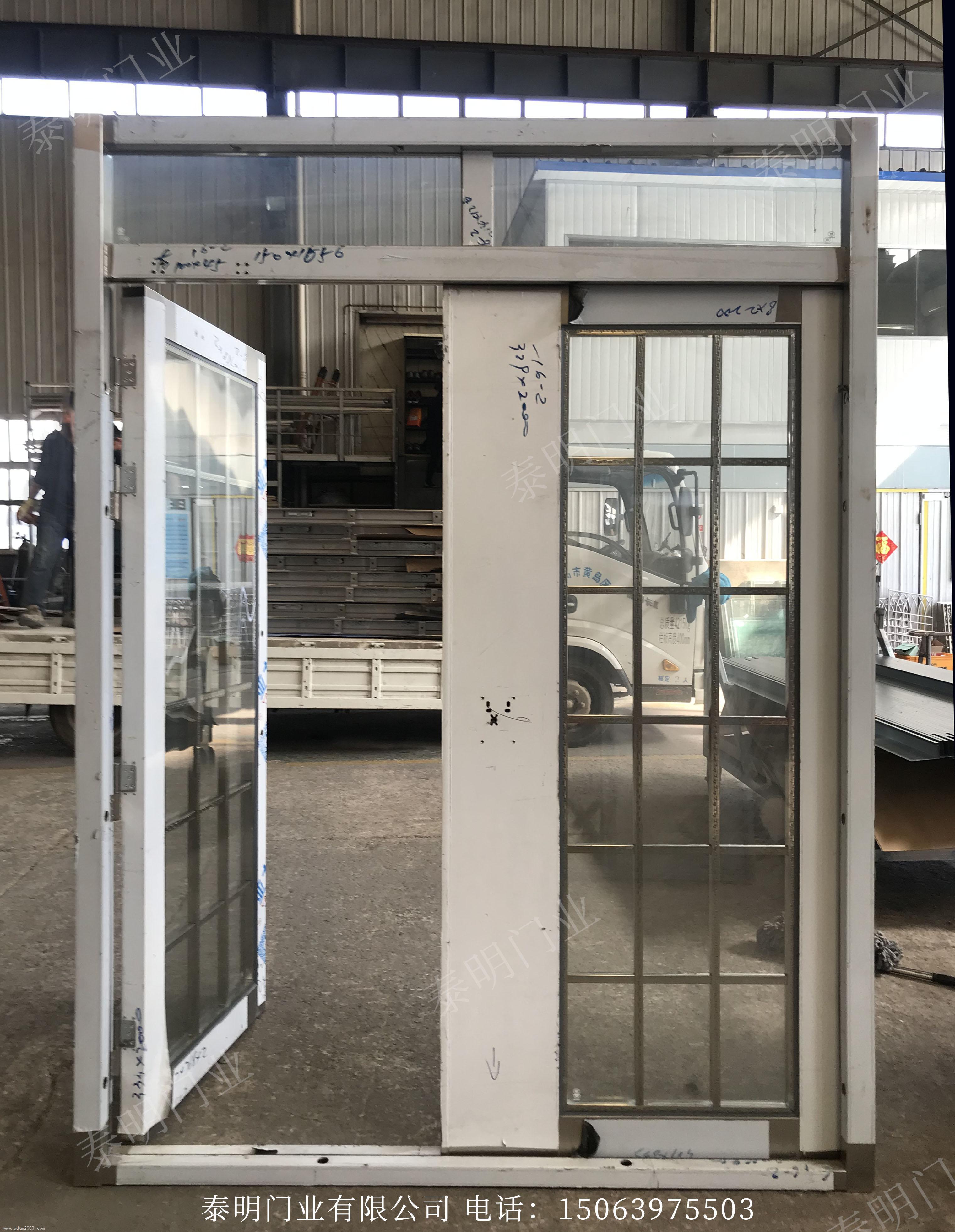 双开不锈钢单元门